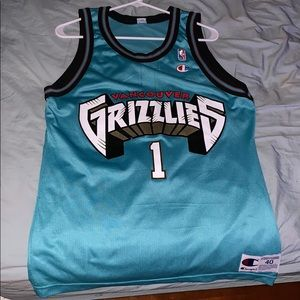 Vancouver Grizzlies mike Bibby Jersey